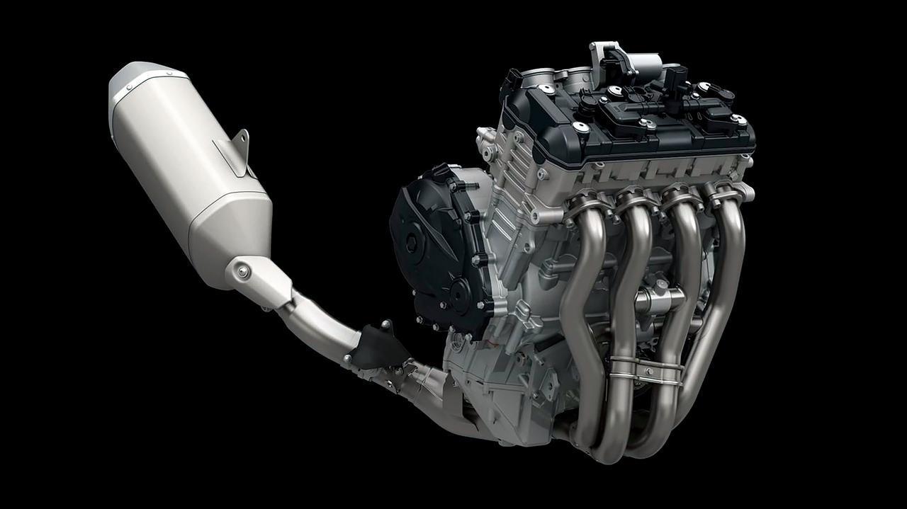 画像: フィンガーフォロワーロッカーアームや可変バルブタイミング機構・SR-VVTなどの最新機構を備えたエンジンは197PSを発揮。