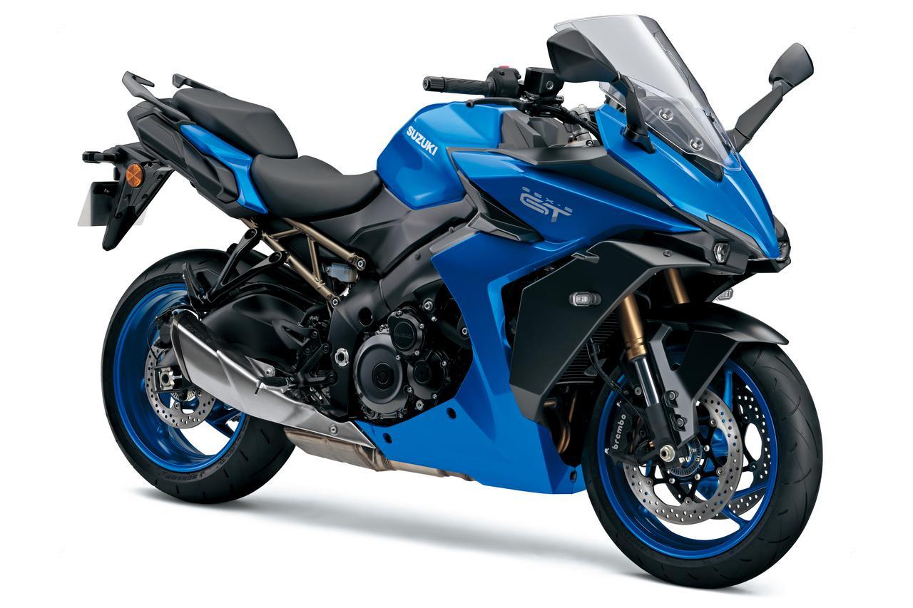 画像: SUZUKI GSX-S1000GT 総排気量:998cc エンジン形式:水冷4ストDOHC4バルブ並列4気筒 シート高:810mm 車両重量:226kg