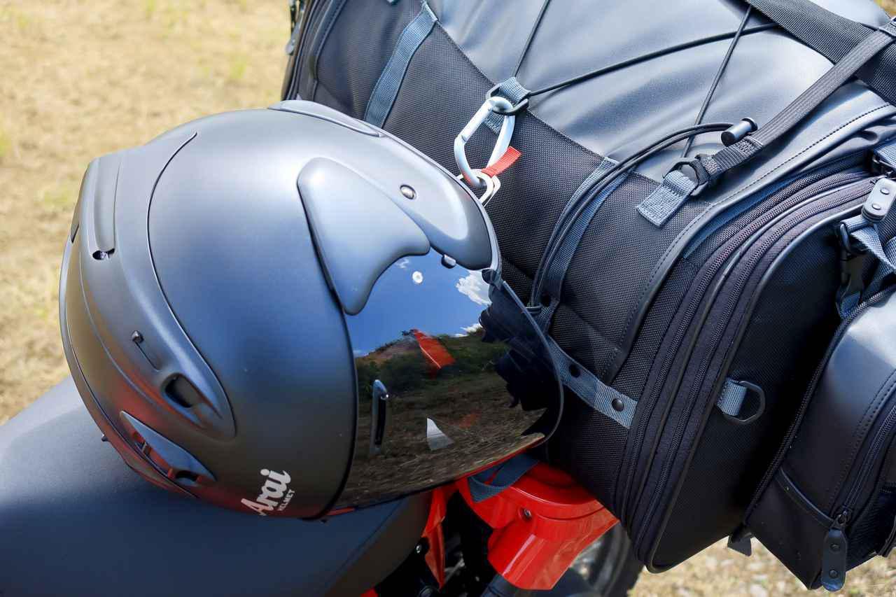 画像2: カラビナはツーリングで役立つ! ライダーならではの使い方を紹介【バイク旅テクニック集 Vol.2】