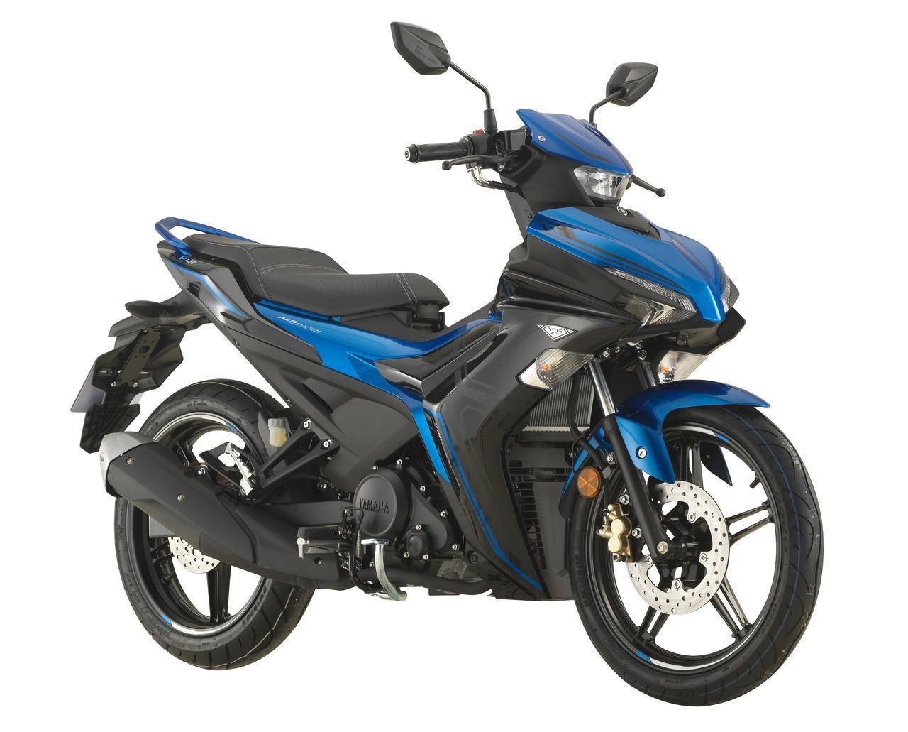 画像: YAMAHA Y16ZR 総排気量:155cc エンジン形式:水冷4ストSOHC4バルブ単気筒 シート高:795mm 車両重量:119kg