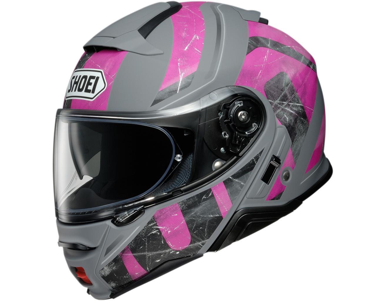 画像6: SHOEIのシステムヘルメット「ネオテックII」に新たなグラフィックモデル「ジョーント」が登場! カラーは3色