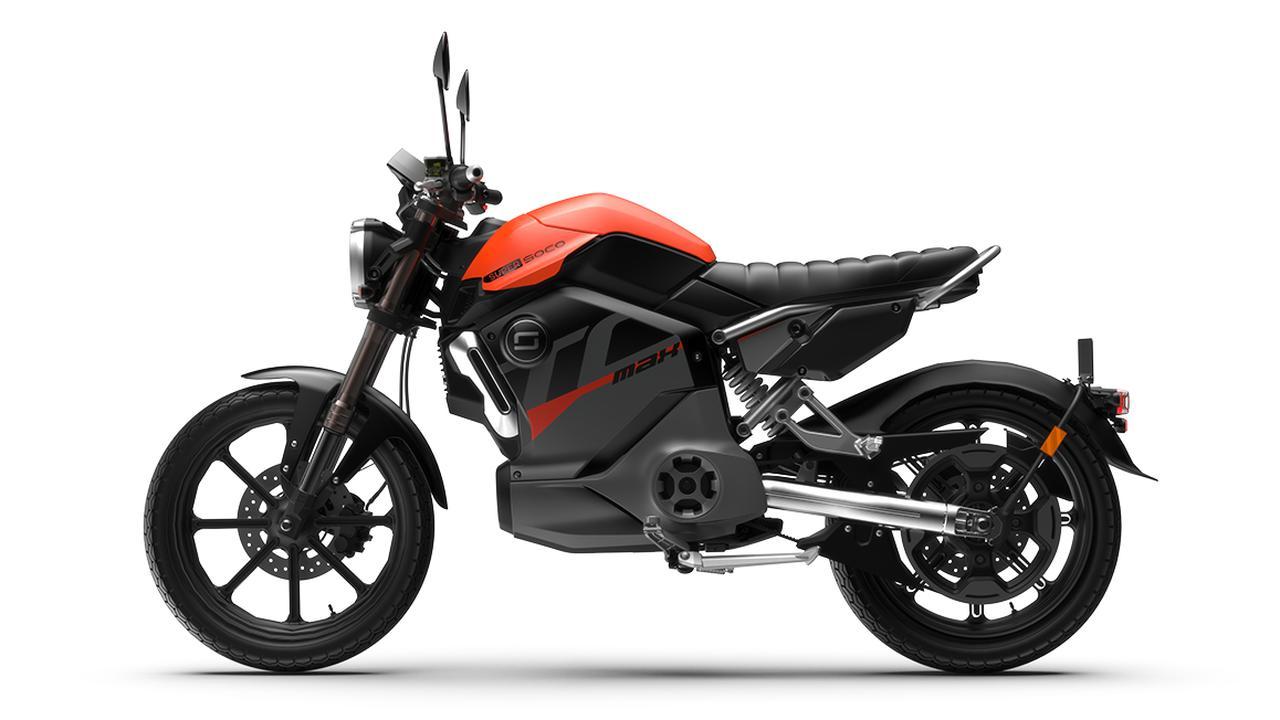 画像1: スーパーソコ「TC マックス」【1分で読める 2021年に新車で購入可能な電動バイク紹介】