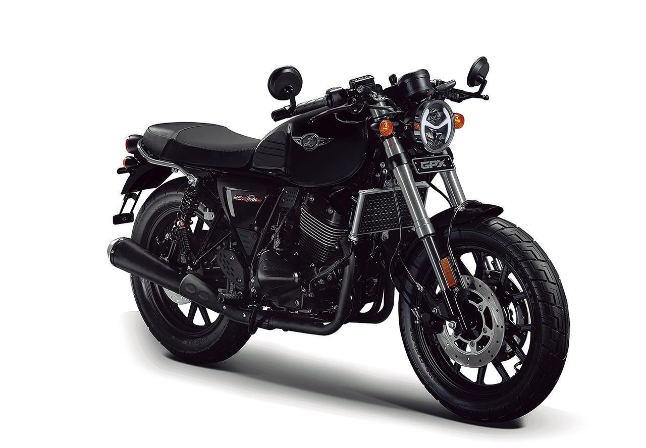 画像1: GPX「レジェンド 250 ツイン 1」【1分で読める 2021年に新車で購入可能な250ccバイク紹介】