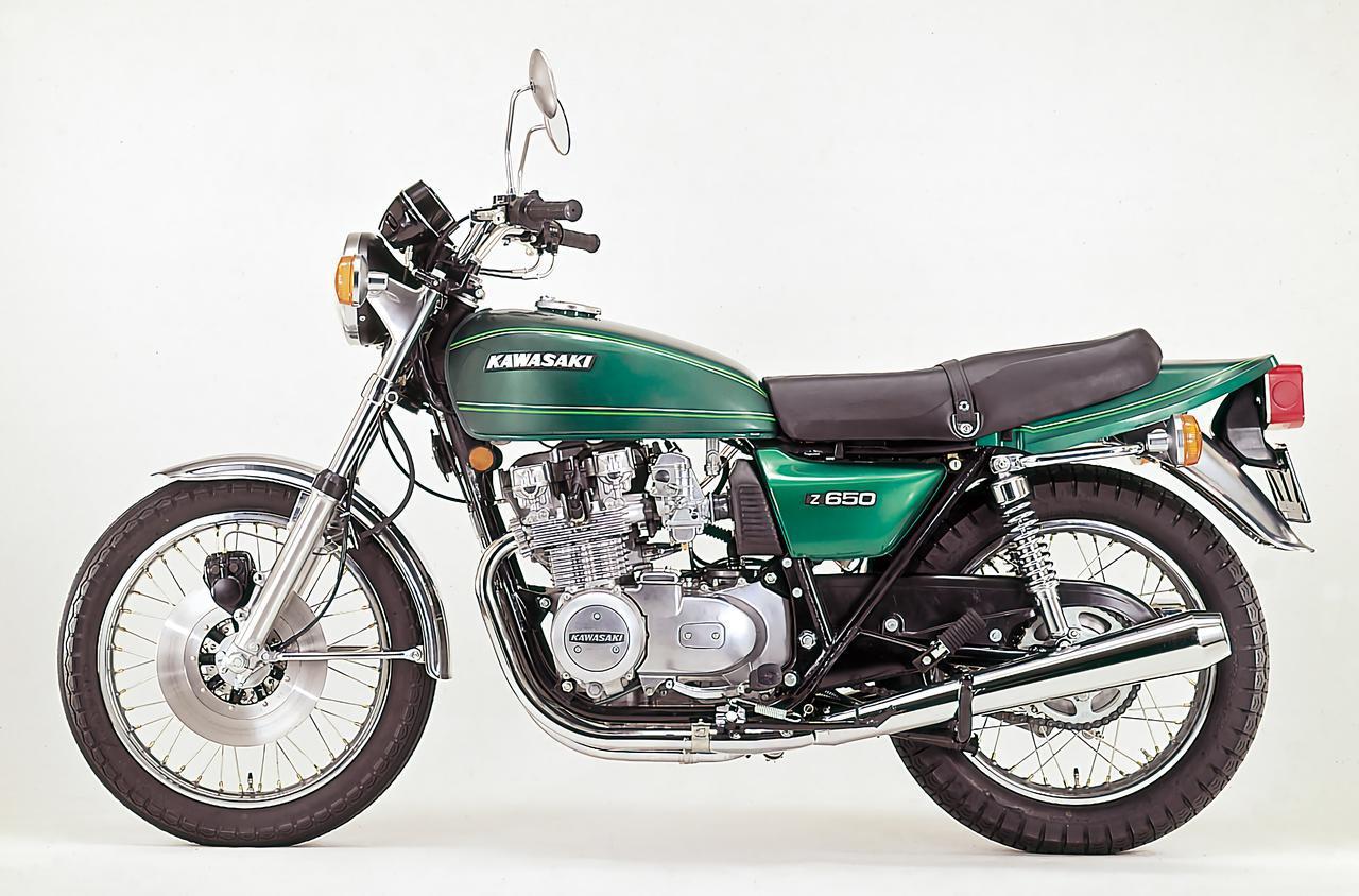 画像: カワサキ「Z650」(1976年)