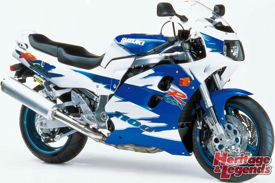 スズキGSX-R1100(1986~1998)の歴史11