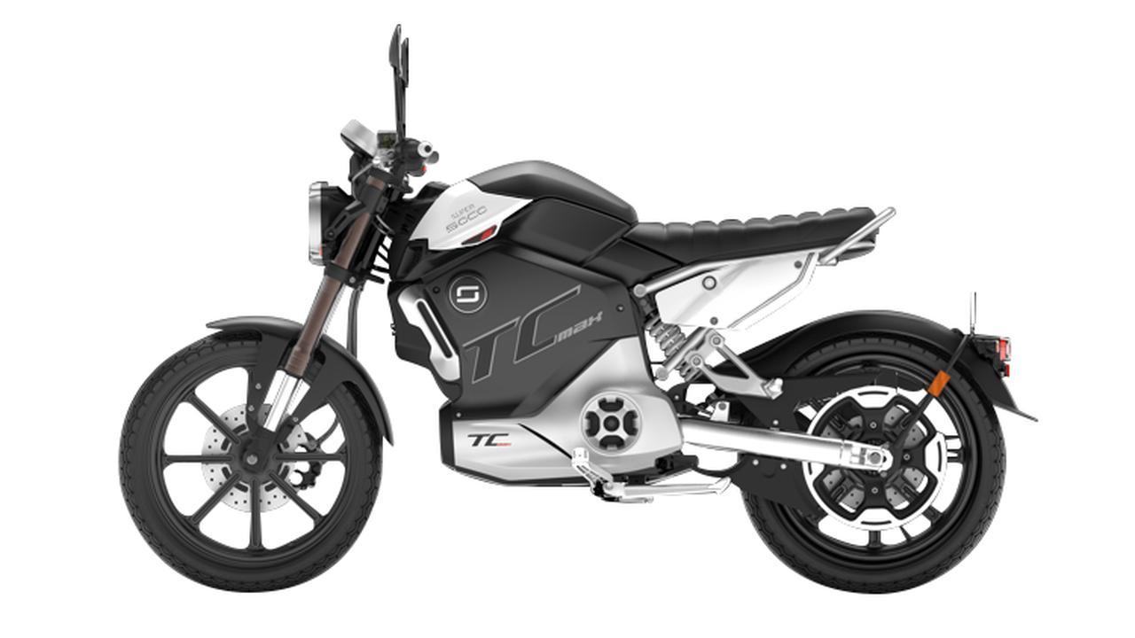 画像4: スーパーソコ「TC マックス」【1分で読める 2021年に新車で購入可能な電動バイク紹介】