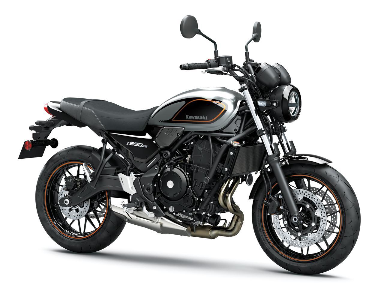 画像4: カワサキが「Z650RS」を正式発表! 水冷2気筒649ccエンジンを搭載したネオレトロスタイルの新型ネイキッドバイク【2022速報】