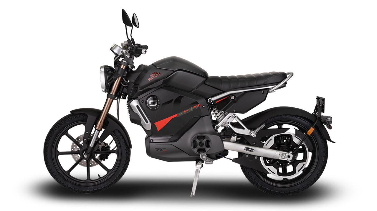 画像3: スーパーソコ「TC マックス」【1分で読める 2021年に新車で購入可能な電動バイク紹介】