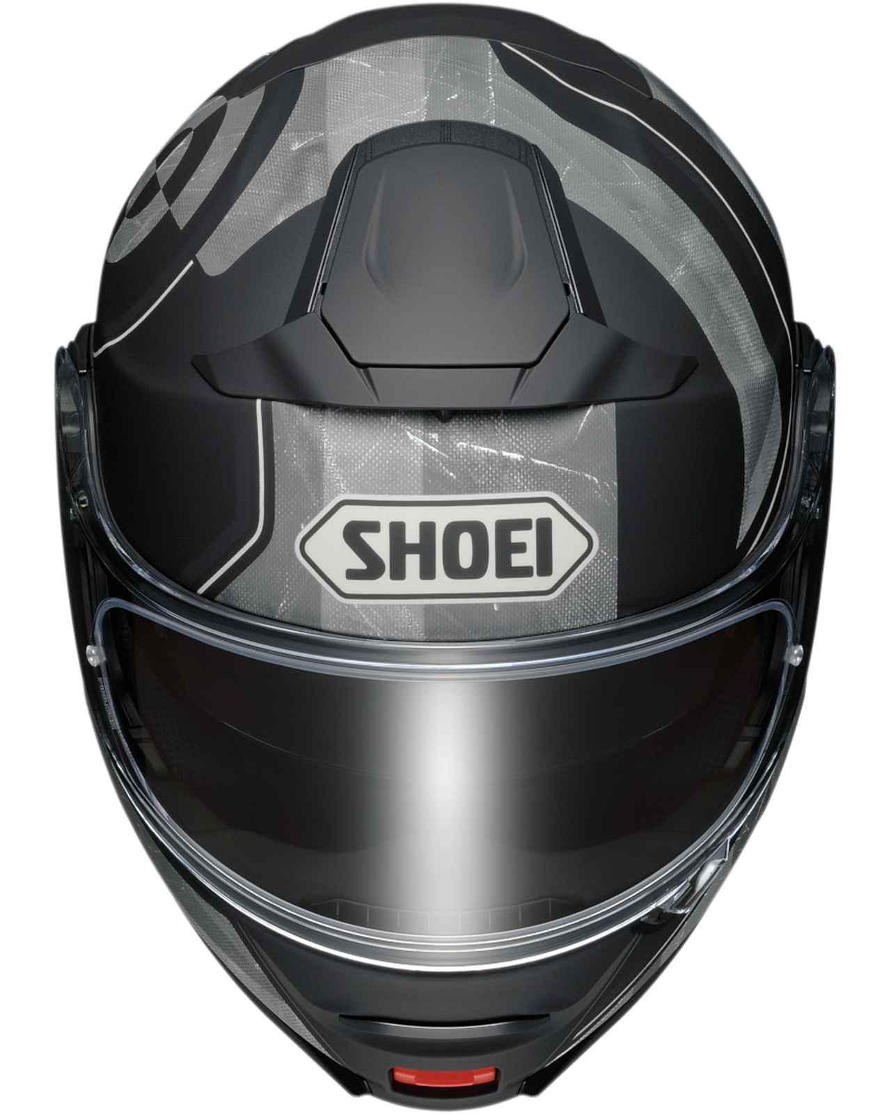 画像3: SHOEIのシステムヘルメット「ネオテックII」に新たなグラフィックモデル「ジョーント」が登場! カラーは3色