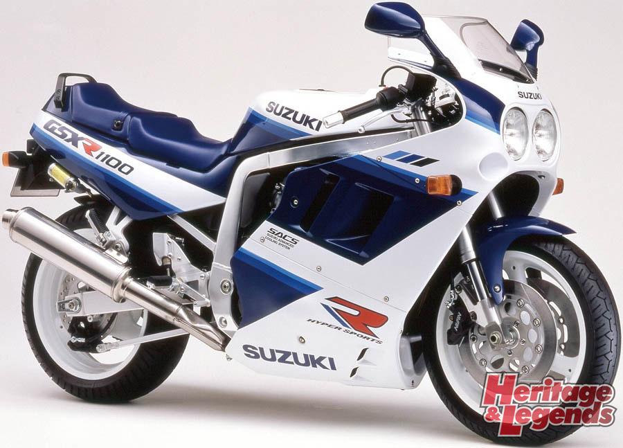 スズキGSX-R1100(1986~1998)の歴史06