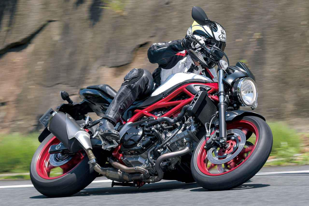 画像: 【解説】スズキ「SV650」(2021年) - webオートバイ