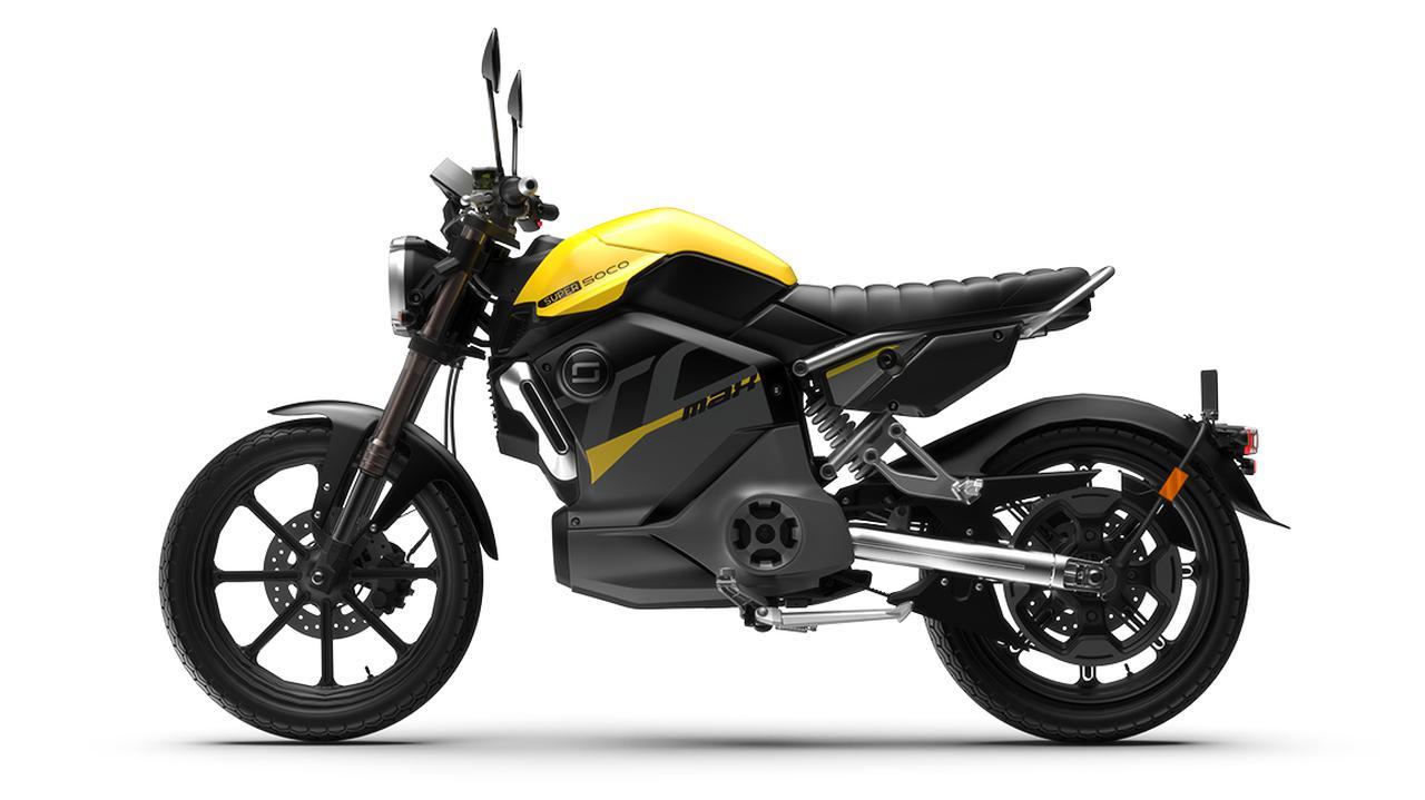 画像2: スーパーソコ「TC マックス」【1分で読める 2021年に新車で購入可能な電動バイク紹介】