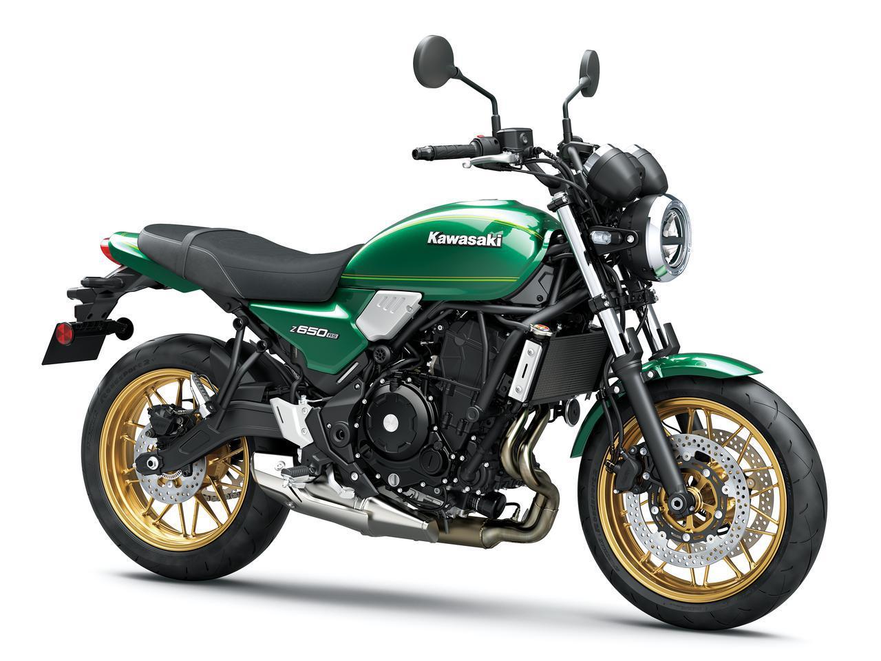 画像: Kawasaki Z650RS 欧州仕様車 総排気量:649cc エンジン形式:水冷4ストDOHC4バルブ並列2気筒 シート高:820mm 車両重量:187kg