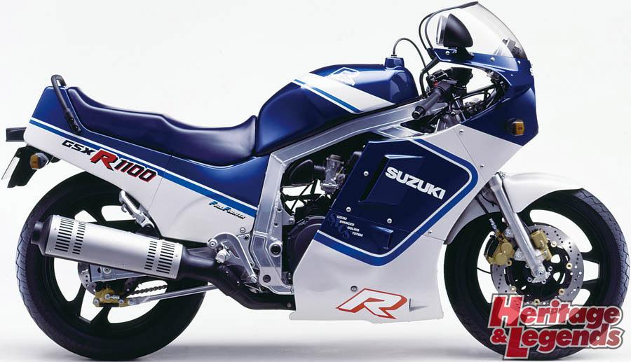 スズキGSX-R1100(1986~1998)の歴史03