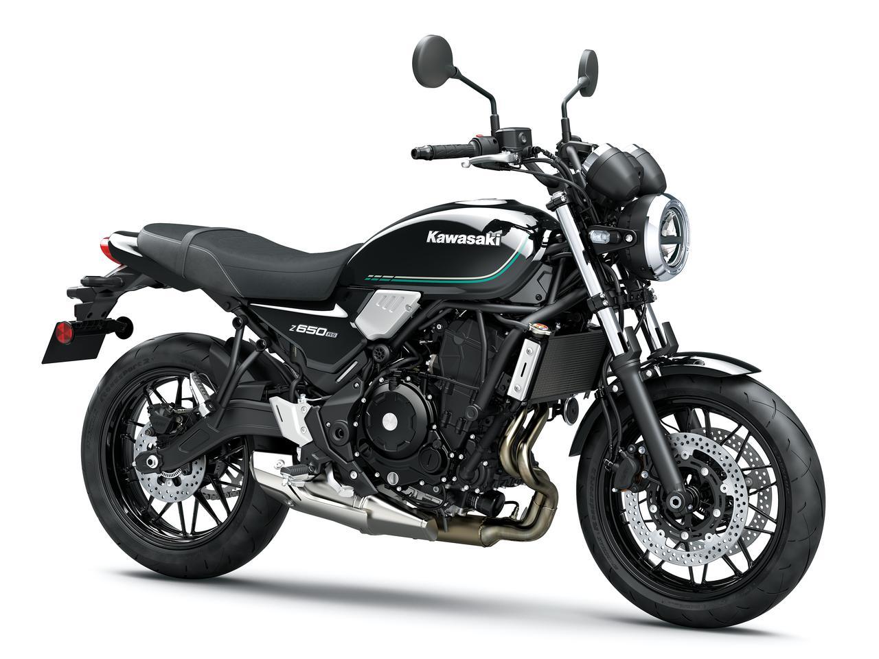 画像5: カワサキが「Z650RS」を正式発表! 水冷2気筒649ccエンジンを搭載したネオレトロスタイルの新型ネイキッドバイク【2022速報】