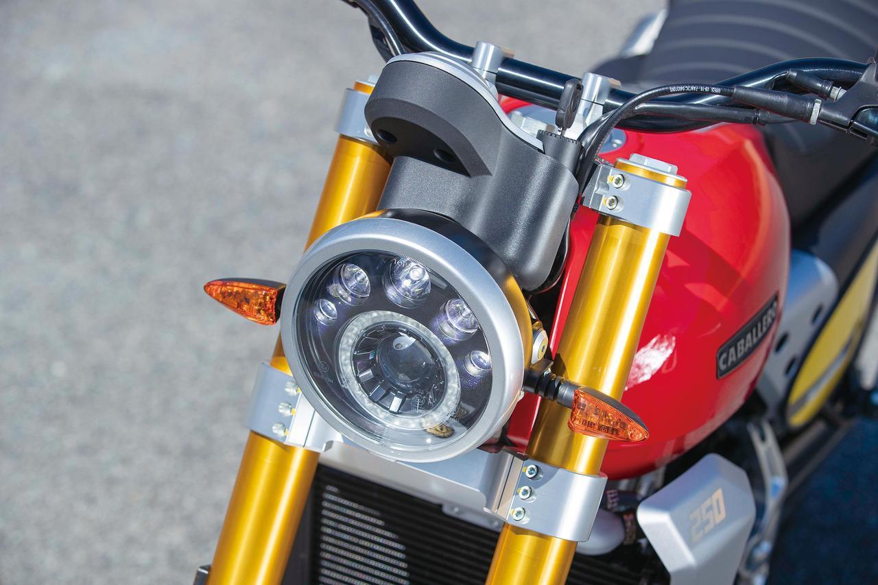 画像: 【インプレ】ファンティック キャバレロ「スクランブラー250」(2019年) - webオートバイ