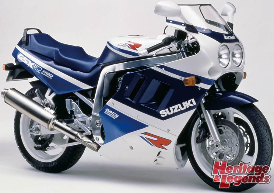 スズキGSX-R1100(1986~1998)の歴史05
