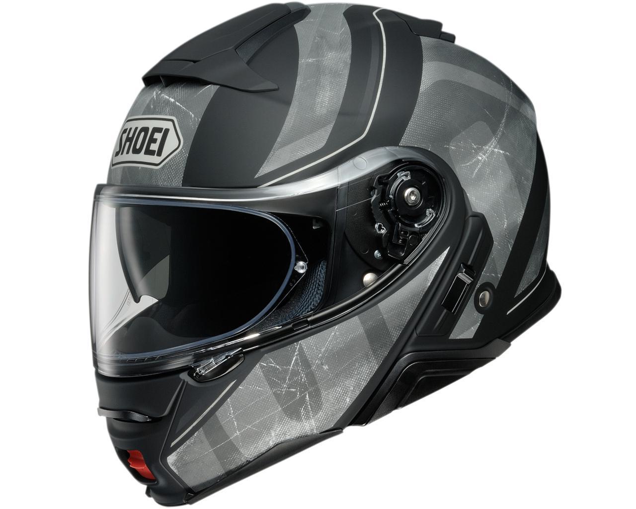 画像1: SHOEIのシステムヘルメット「ネオテックII」に新たなグラフィックモデル「ジョーント」が登場! カラーは3色