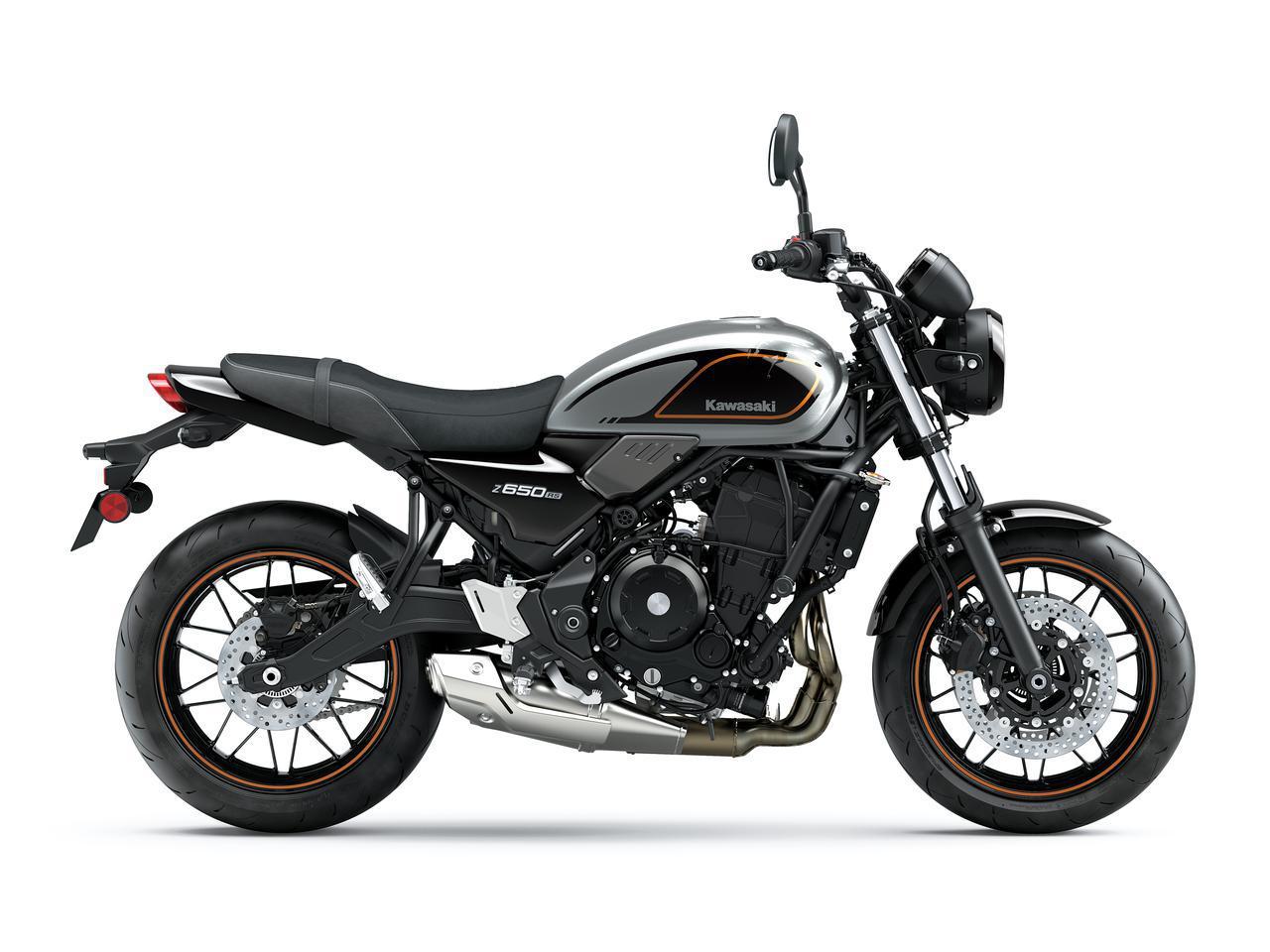 画像10: カワサキ「Z650RS」国内モデルに関する情報|発売時期が明らかに! 日本での販売価格も予想【2022速報】