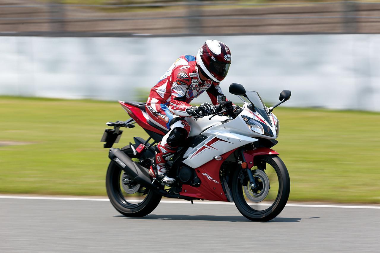画像: 【最高速計測】ヤマハ「YZF-R15」 - webオートバイ