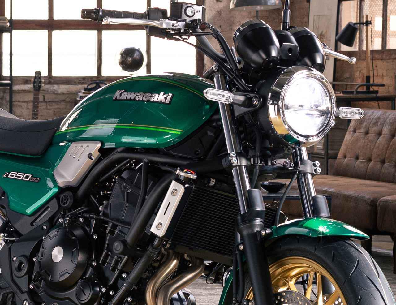 画像1: カワサキ「Z650RS」国内モデルに関する情報 - webオートバイ
