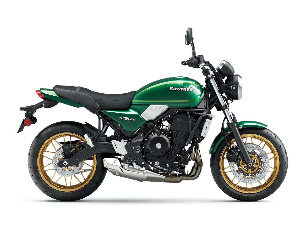 画像5: カワサキ「Z650RS」国内モデルに関する情報|発売時期が明らかに! 日本での販売価格も予想【2022速報】