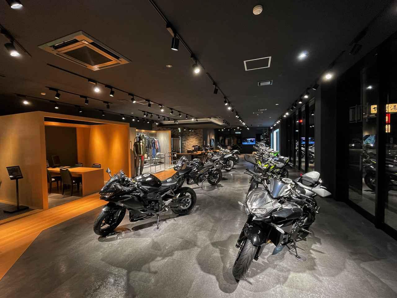 画像2: 愛知県豊橋市にカワサキ専門店「カワサキ プラザ豊橋」が10月1日(金)オープン
