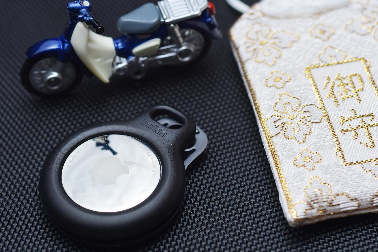 画像: AirTag(エアタグ)はバイクの盗難対策に使えるのか?【自腹レビュー】 - webオートバイ