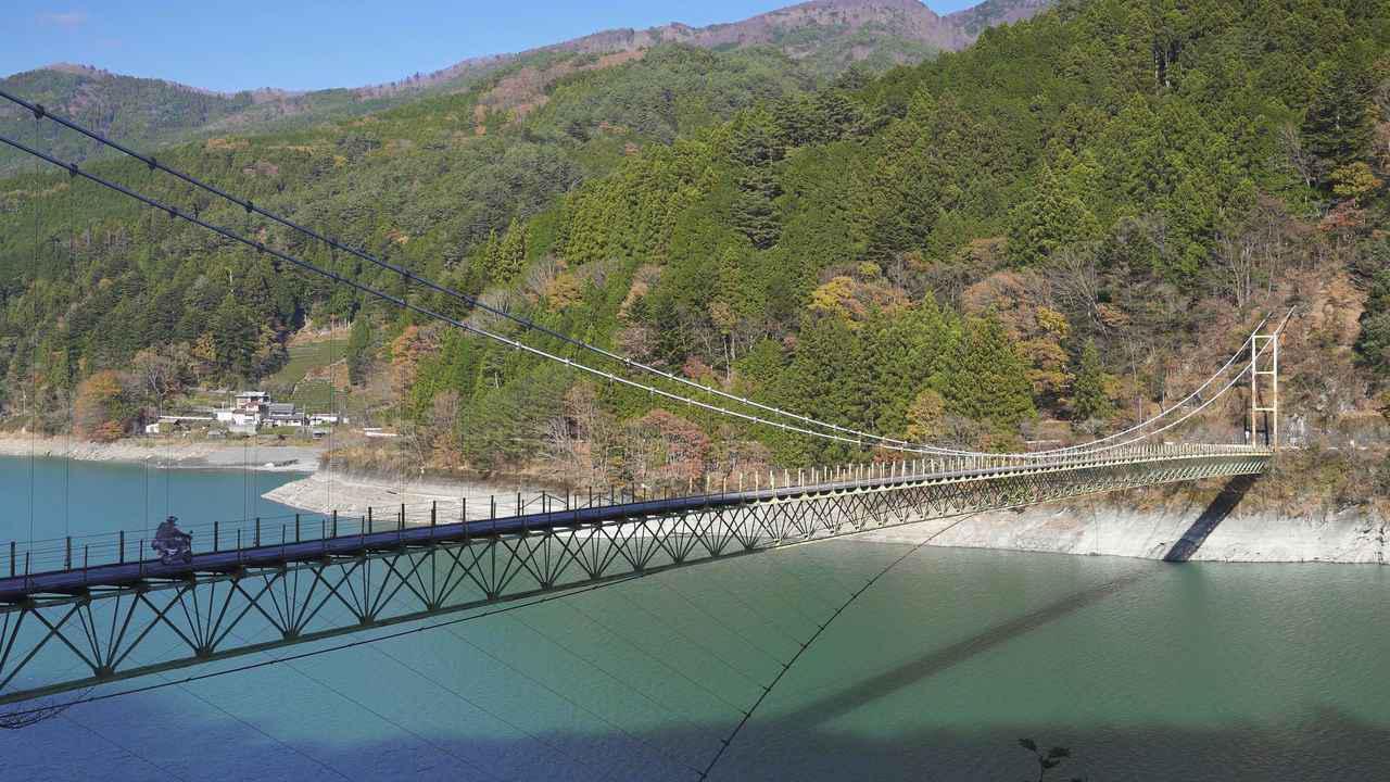 画像4: 鉄道ファンに人気の大井川上流部はツーリングライダーにもおすすめ