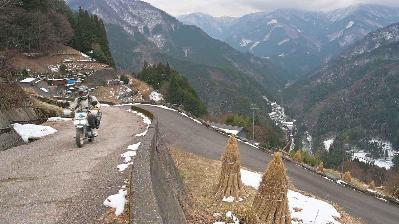 画像: 知る人ぞ知る四国の絶景「落合集落」をゆく【徳島県】 - webオートバイ