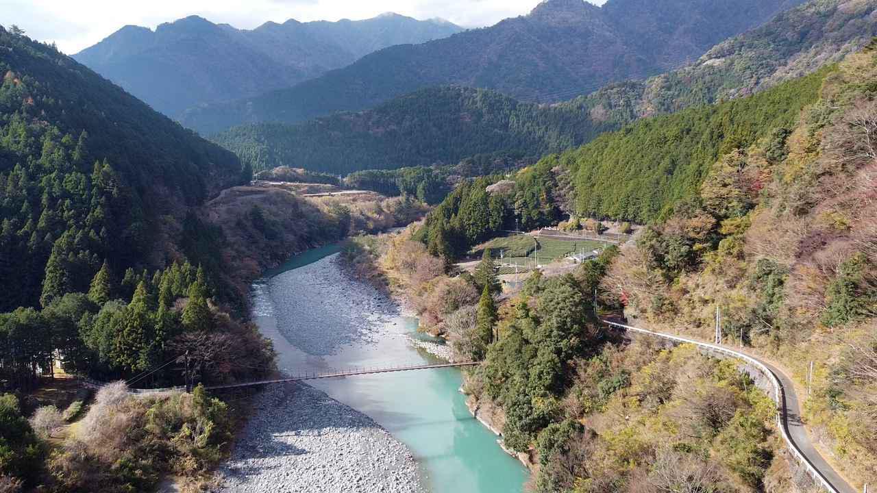 画像2: 鉄道ファンに人気の大井川上流部はツーリングライダーにもおすすめ