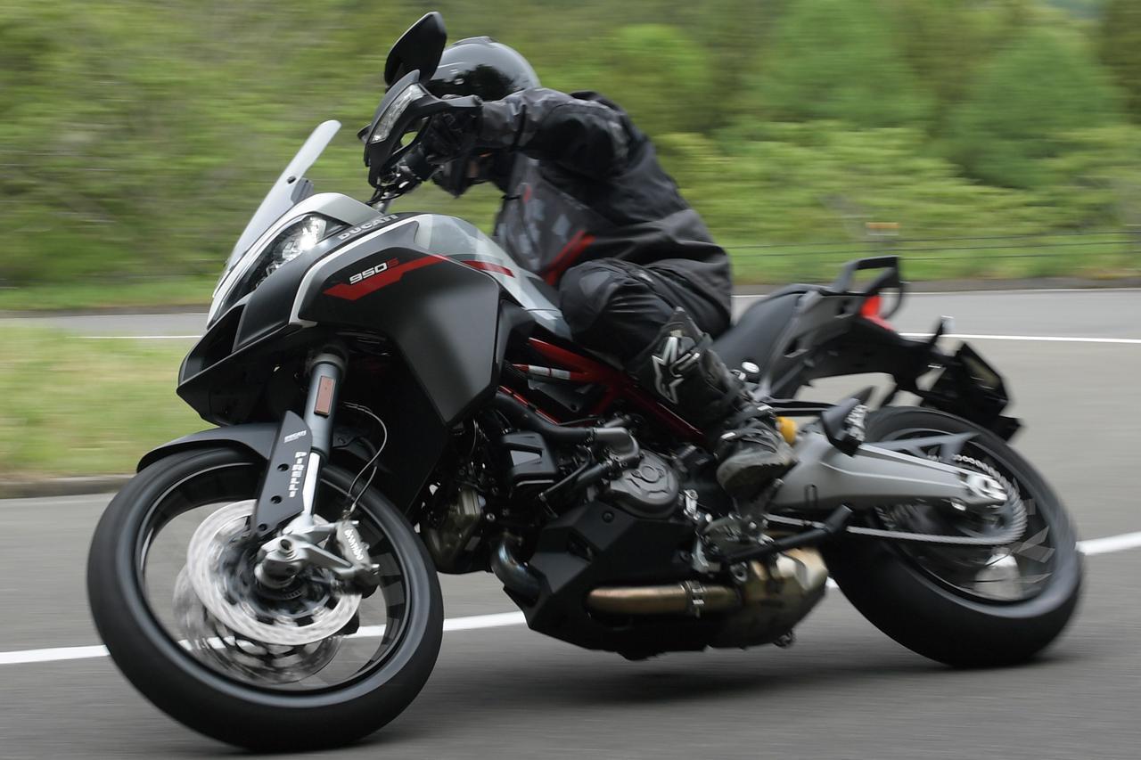 画像: 【インプレ】ドゥカティ「ムルティストラーダ950 S」(2021年) - webオートバイ