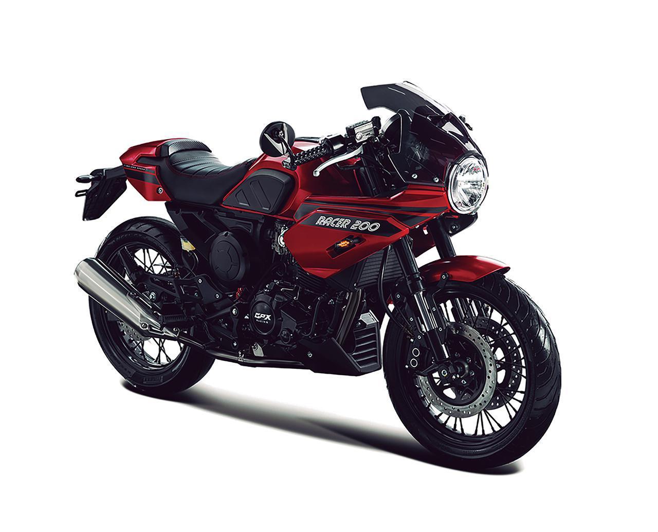 画像: GPX「ジェントルマン レーサー200」 - webオートバイ