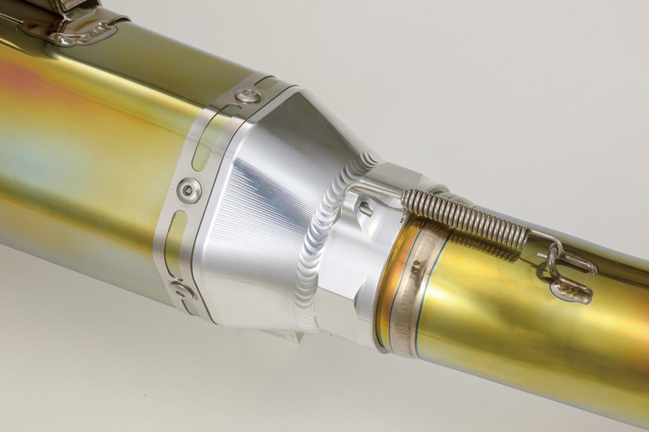 画像2: ケイファクトリー GPZ900R用『チタン製2本出しスリップオンマフラー』
