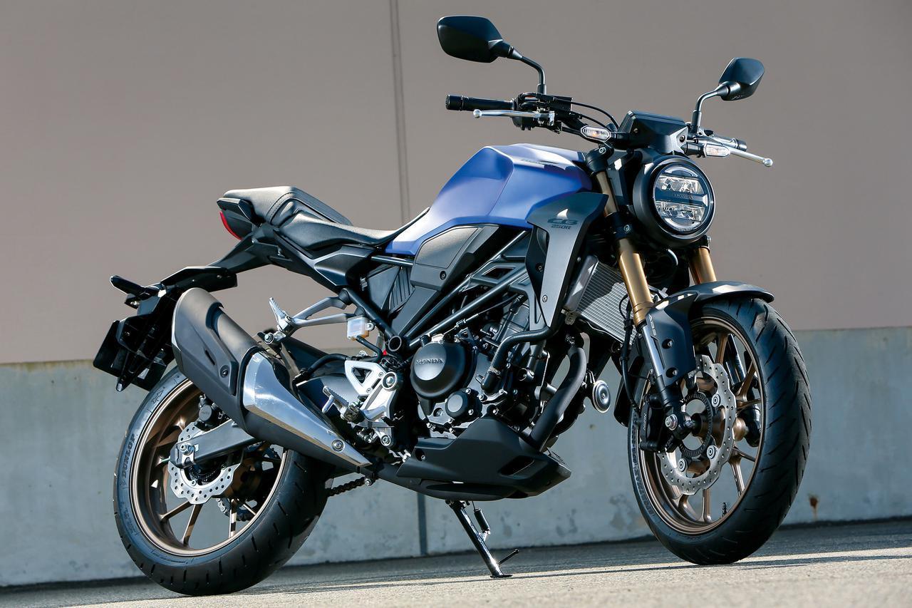 画像: Honda CB250R ●水冷4ストDOHC4バルブ単気筒●249cc●27PS/9000rpm●2.3kg-m/8000rpm●144kg●795mm●10L●110/70R17・150/60R17 税込価格:56万4300円