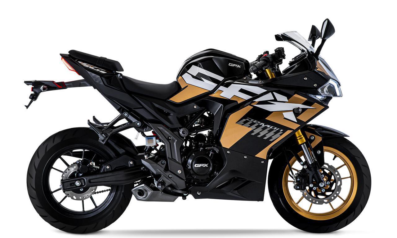 画像2: GPX「デーモン150GR FI」【1分で読める 2021年に新車で購入可能な150ccバイク紹介】
