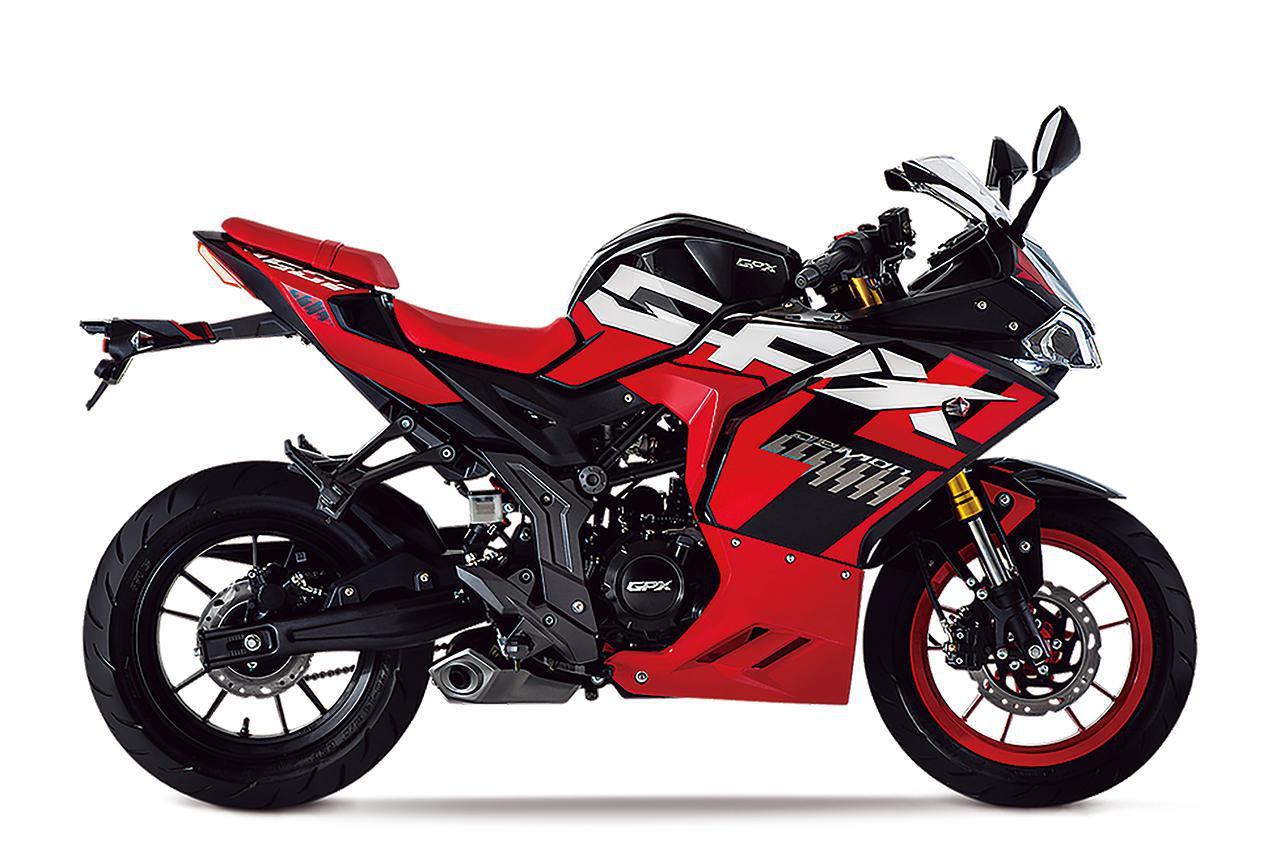 画像1: GPX「デーモン150GR FI」【1分で読める 2021年に新車で購入可能な150ccバイク紹介】
