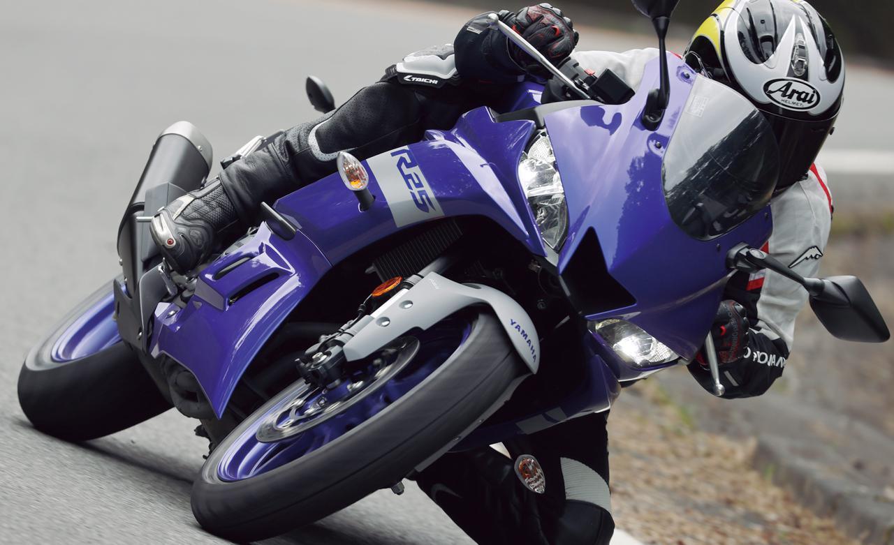 画像: 【インプレ】ヤマハ「YZF-R25 ABS」(2021年) - webオートバイ