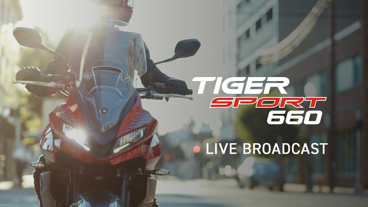 画像: 【動画】New Triumph Tiger Sport 660 - Global Reveal www.youtube.com