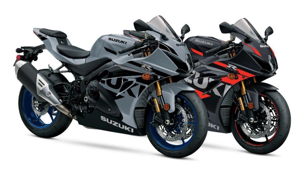 画像: スズキ「GSX-R1000R」「GSX-R750」「GSX-R600」の2022年モデルが北米で登場! 海外ではナナハンも健在 - webオートバイ
