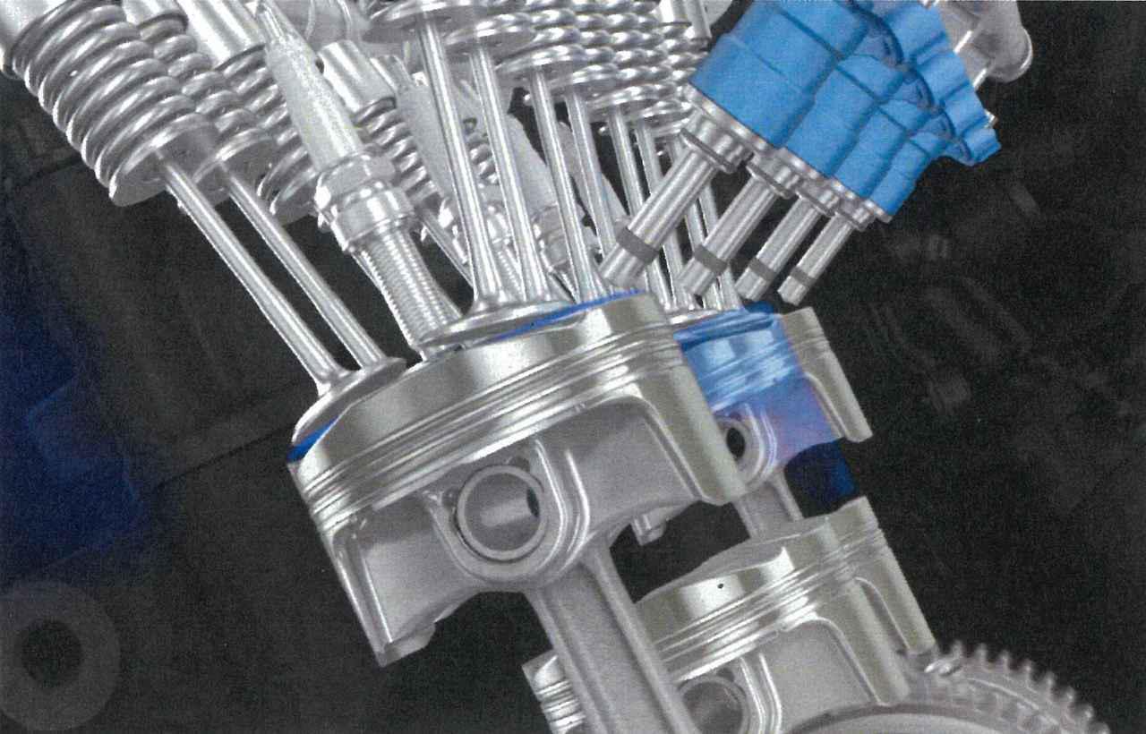 画像2: 水素時代に対応した水素エンジンも研究中!