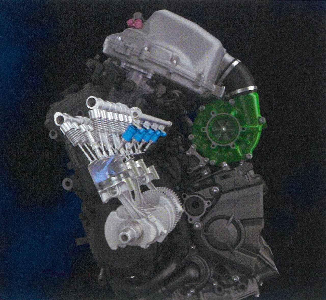 画像1: 水素時代に対応した水素エンジンも研究中!