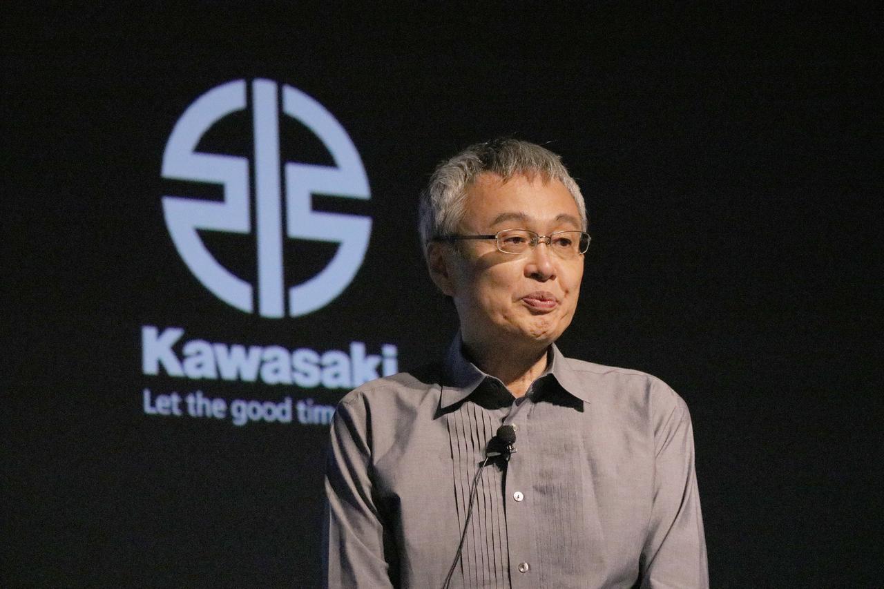 画像: カワサキモータース株式会社 代表取締役 社長執行役員 伊藤 浩 氏