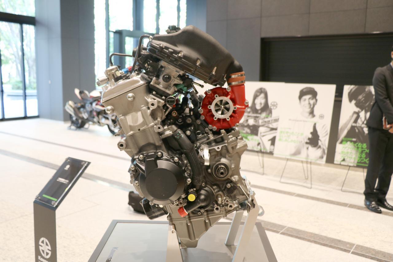 画像3: 水素時代に対応した水素エンジンも研究中!