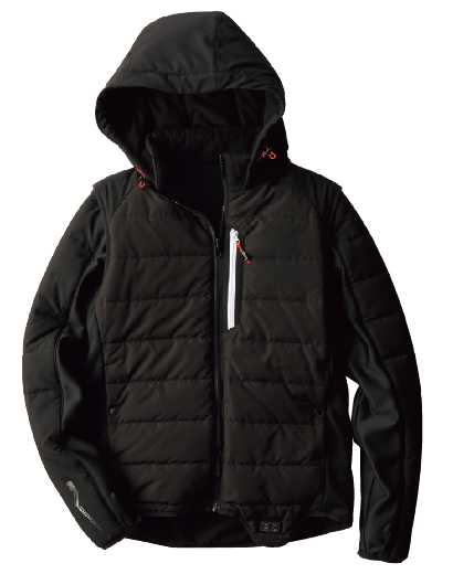 画像: WindCore デュアル4ヒーター 2WAYジャケット 品番:WZ5400/コード:36806 税込価格:5,800円 限定生産