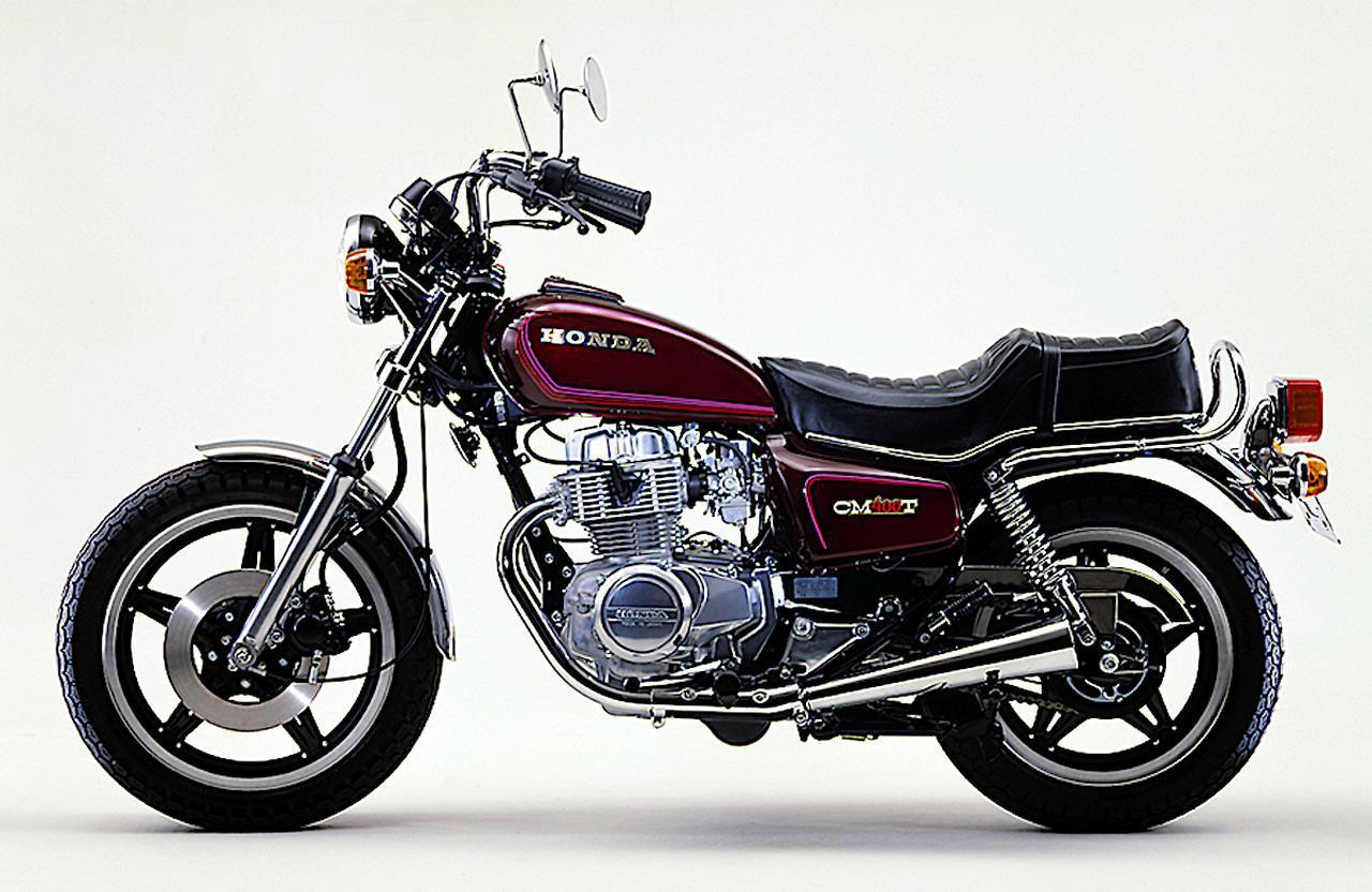 画像: ホンダ CM400T(1979年モデル)