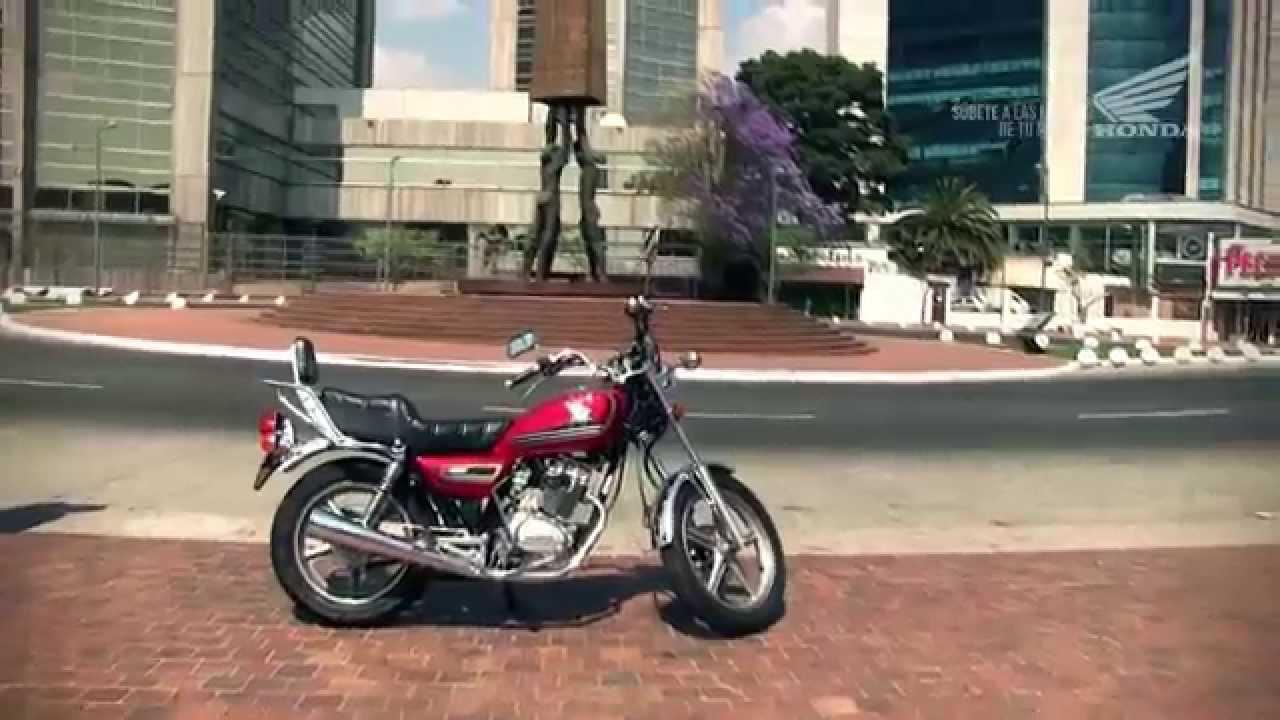 画像: 【動画】Honda Motos Guatemala|Honda V-men 125 www.youtube.com