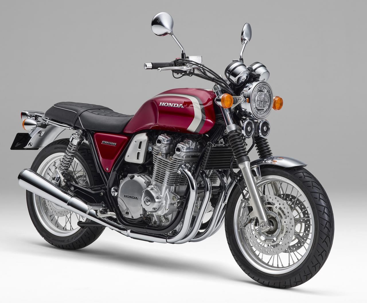 画像: Honda CB1100 EX Final Edition 総排気量:1140cc エンジン形式:空冷4ストDOHC4バルブ並列4気筒 シート高:780mm 車両重量:255kg 発売日:2021年11月25日(木) 予約期間:2021年10月8日(金)~2021年11月30日(火) 税込価格:136万2900円