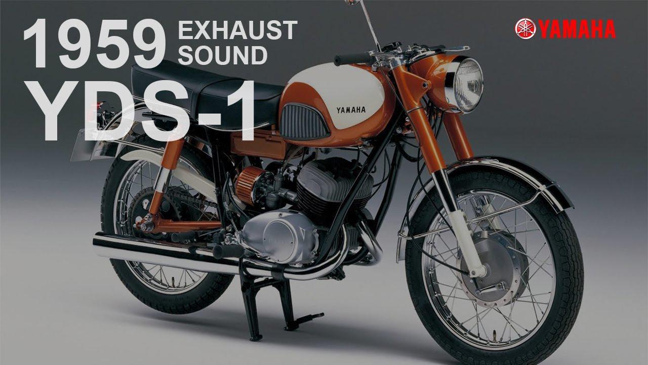 """画像: 【動画】EXHAUST SOUNDS """"YDS-1"""" 1959 www.youtube.com"""