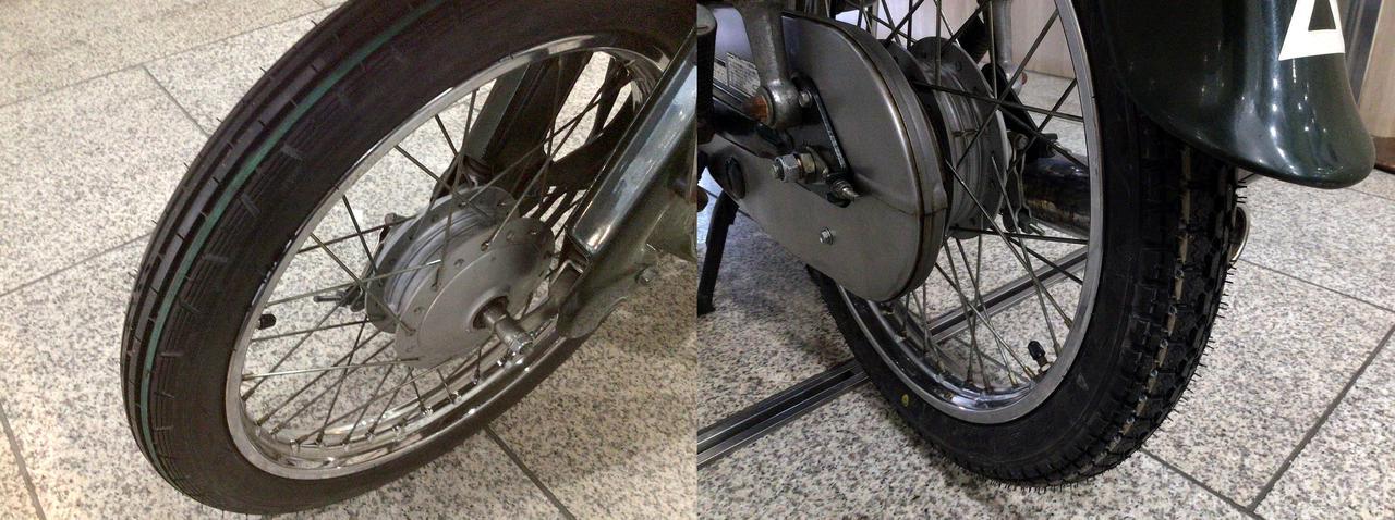 画像1: タイヤも新品にしてあげよう!